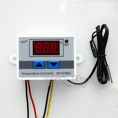-50-110°C 12/24/220V Digital Thermostat Temperature Switch Controller Control