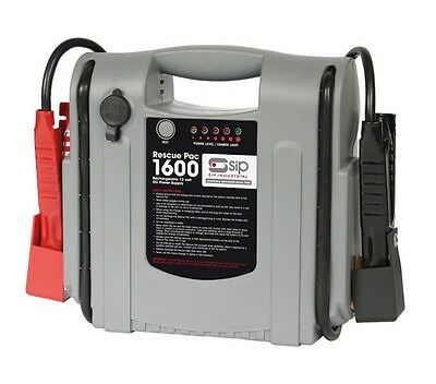 SIP 03936 CAR BATTERY POWER BOOSTER JUMP STARTER Road Start Rescue Pack 1600 12v