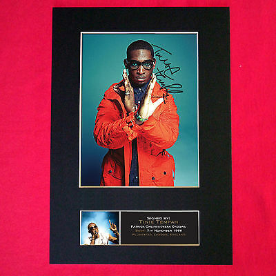 TINIE TEMPAH Quality Autograph Mounted Signed Photo PRINT A4 401