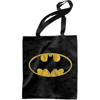 Batman - Bat Logo Lightweight Ccotton Tote Bag - New & Official DC Comics