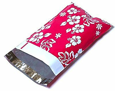 100 6x9 Hot Pink Aloha Designer Mailers Poly Shipping Envelopes Boutique Bags