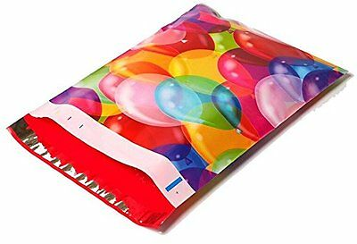 100 10x13 Color Balloons Designer Mailers Poly Shipping Envelopes Boutique Bags