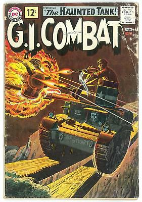 G.I. Combat #91 GD/VG 1st Cover Apperance Haunted Tank