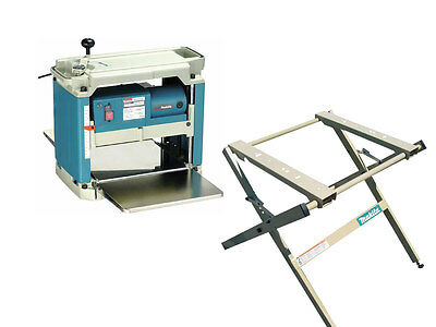 Makita 2012NBX 240v Planer Thicknesser with 194053-0 Stand