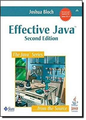Effective Java: Second Edition by Bloch, Joshua Paperback Book The Cheap Fast