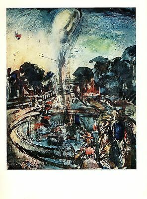 "1977 Vintage ROUAULT /""PARADE/"" COLOR offset Lithograph"