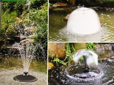 New Jebao FLD - 36 Floating Fountain Jet & A Great Floating Pond Light +1 Yr Wty