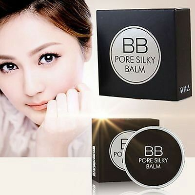 1Pcs Nutritious Pig Grease Pore Face Invisible BB Cream Silky Bottoming