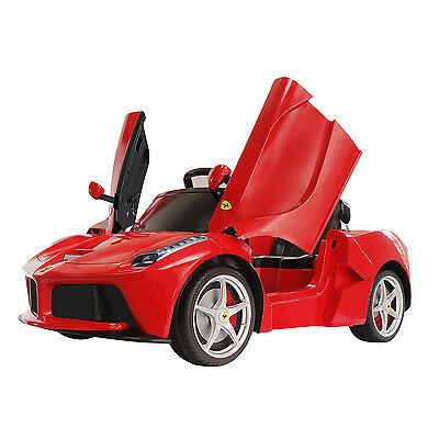 6V Licensed LaFerrari Ride On Toy Car 1:4 Lights Gift W/ Remote Control