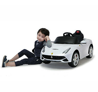 Riding Toy Licensed Ferrari F12 Kids Electric Ride On Car Battery Powered w/ MP3