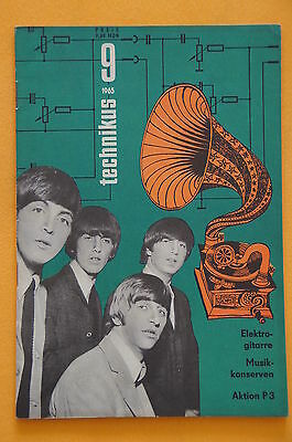 Zeitschrift Technikus Heft 9 - 1965, The Beatles