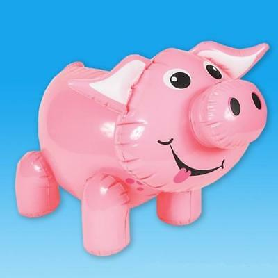 """24"""" Giant Inflatable Pig Farm Animal Inflate Blow Up Themed Novelty Party Toy"""