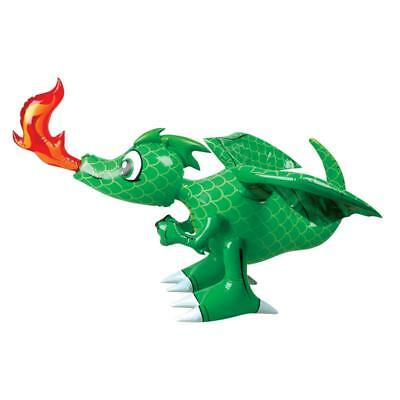 """28"""" Giant Inflatable Green Dragon Novelty Kids Toy Party Blow Up Mythical Animal"""