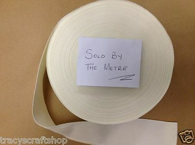 Rug Binding for Latch Hook Kits 2 inch wide twill tape. Sold by the metre