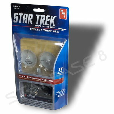 USS ENTERPRISE 1701 (1/2500 AMT Bausatz) STAR TREK MODEL KIT FEDERATION STARSHIP