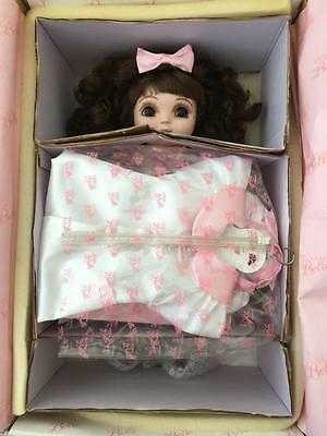 Original Adora Belle Porcelain Doll 1997 Marie Osmond Mint in Box Bell Bracelet