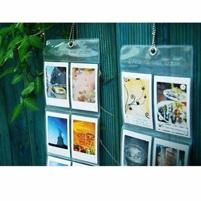 3x polaroid fujifilm instax mini photo album wall pocket 10 photo per each album