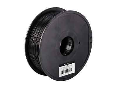 Monoprice MP Select ABS Plus+ Premium 3D Filament, 1kg 1.75mm, Black