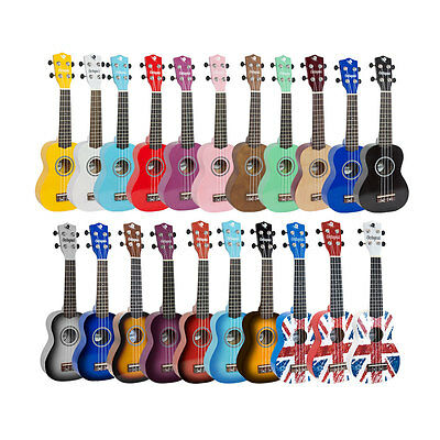 Octopus UK200 Soprano Ukulele Outfit Available in Various Colours