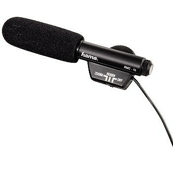 Hama Products RMZ-16 Zoom Directional Microphone 00046116 For video recordings