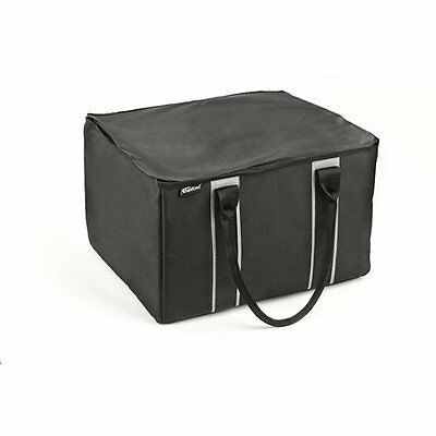 High Quality Black File Tote with Puncture Proof Padded Inner Walls and Bottom