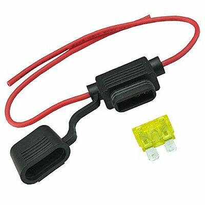 20A Inline ATC ATO Damp proof & Waterproof Fuse Holder by AutoEC