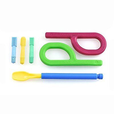 ARK's Feeding and Oral Motor Therapy Starter Set, (Royal Blue) Z-Vibe & Chewies