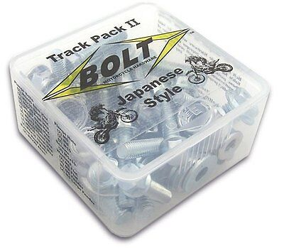 Track Pack II Motorcycle Fastening Kit, 54 Pc Hardware by Bolt
