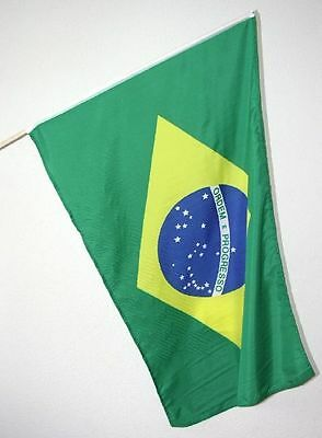 NEW Brazil Brasil National Country Flag Banner WorldCup