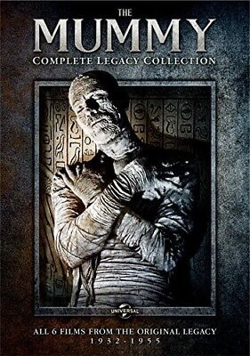 The Mummy: Complete Legacy Collection [New DVD] Slipsleeve Packaging, Snap Cas