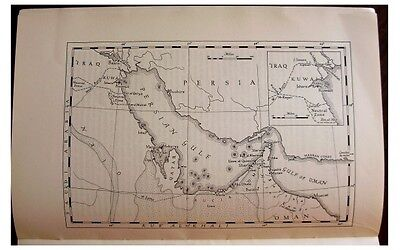 1954 - PERSIAN GULF - OIL - Boundary Disputes - TRUCIAL OMAN STATES - UAE - 12