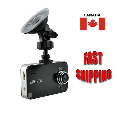 Full HD 1080P Car DVR Dash Camera Crash Cam Night Vision Surveillance + TF Card