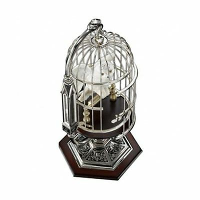 Harry Potter - Miniature Hedwig in Cage - Oifficial Collectors Noble Boxed