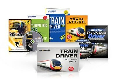 TRAIN DRIVER Recruitment PLATINUM Package Box Set: How to Become a Train Driver.