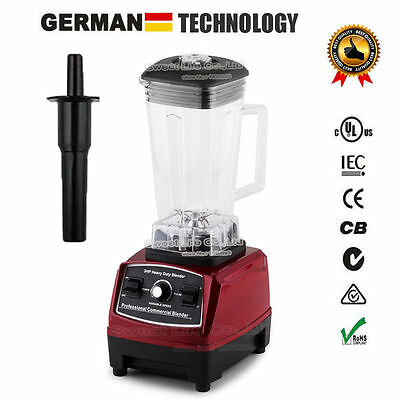 3HP BPA FREE commercial home smoothies power blender food mixer fruit processor