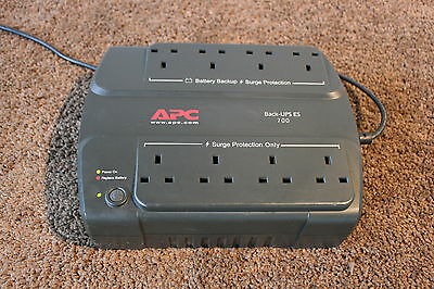 APC BE700 UPS / new batteries / 12M RTB / standard plug