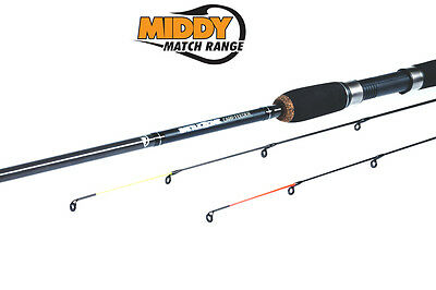 MIDDY White Knuckle BATTLEZONE 9ft 50g CW Carp Feeder Fishing Rod - 30555