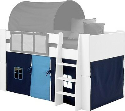 Furniture for kids light/dark blue children accessories bed hanging tent/curtain
