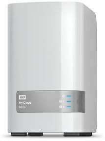 Disque WD 3.5'' 8To NAS My Cloud Mirror [Gris, Color blanco] - Western NEUF