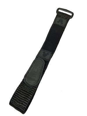 Timex Mickey Mouse Fastwrap Sport Wrap 16mm-20mm Black Watch Band Fits T49963