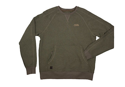 Fox Chunk Green Marl Pouch Sweater All Sizes