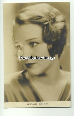 b3300 - Film Actress - Constance Cummings - postcard by Film Weekly