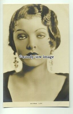 b3332 - Film Actress - Myrna Loy - postcard by Film Weekly