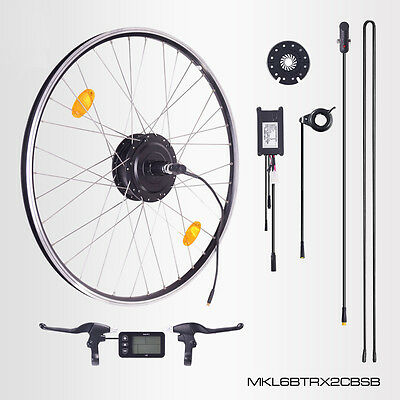 "E-Bike Conversion Kit,36V 350W,28""Umbausatz,Bafang Heckmotor,Display,Sinus Contr"