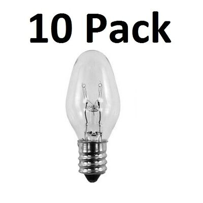 10 Pack Light Bulbs 15W for Scentsy Plug-In Warmer Wax Diffuser 15 Watt 120 Volt