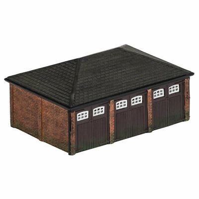 HORNBY Skaledale R9812 Triple Garage - OO Gauge Buildings