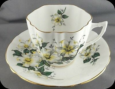 Windsor Canadian Dogwood Cup and Saucer (4 available)
