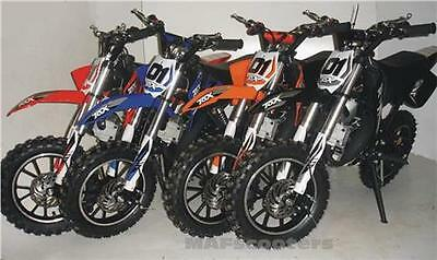 New CRX 50  2 stroke 50cc petrol Engine auto Mini Dirt bike By MAF Bikes