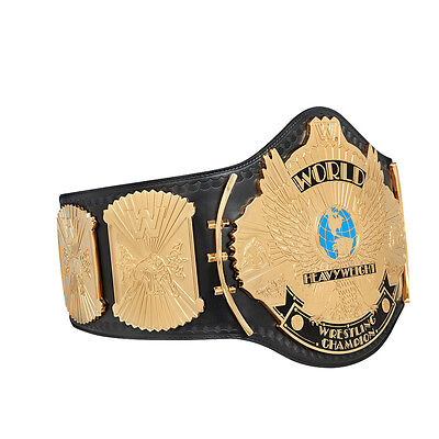 Wwe Winged Eagle Championship Adult Size Metal Replica Belt With Case
