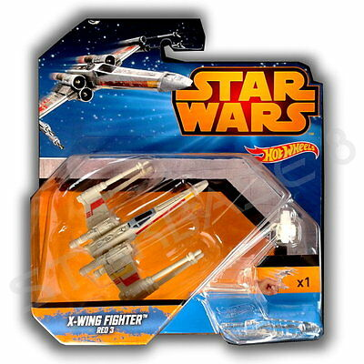 X-Wing Fighter Red 3 - Mattel Hot Wheels - Star Wars Episode Iv - Vi & Rogue One